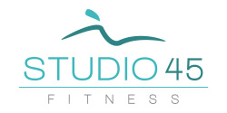 Studio 45 Fitness Mobile Logo